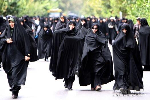 İran ABŞ-a qarşı 3,5 min qadın nindza hazırlayıb - VİDEO