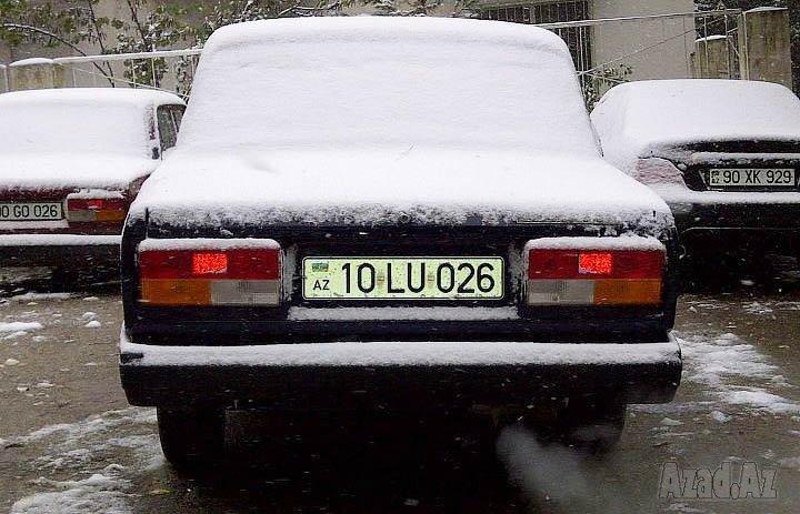 Bakı Avtoşlarından buzda Avto-Şou - VIDEO