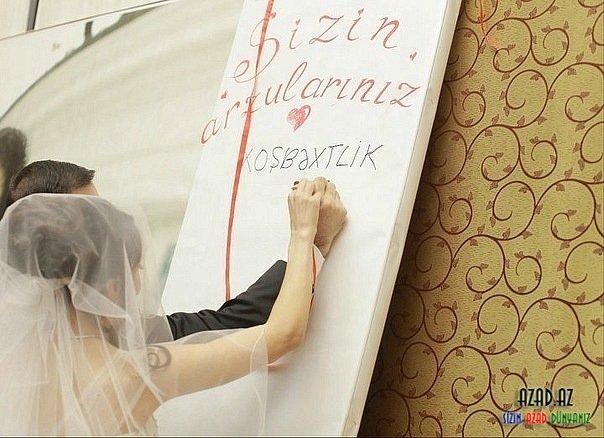 Поздравления на свадьбу по азербайджански