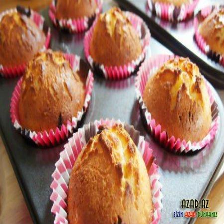 Kişmişli Muffin - Hazırlanması