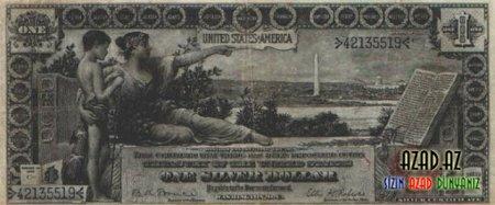 Nadir və çox qədim dollar əskinaslar...