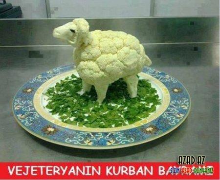Qurban Bayrami Sosial Səbəkələrdə Foto
